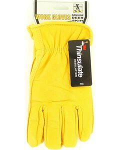 HD Xtreme Fleece Lined Deerskin Gloves, , hi-res