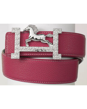 Ovation  Fashionista Belt, Pink, hi-res