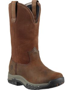 Ariat Women's Terrain H2O Pull-On Boots - Round Toe, , hi-res