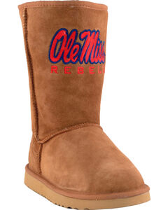 Gameday Boots Women's University of Mississippi Lambskin Boots, , hi-res