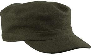 Stormy Kromer Men's Flat Top Cap, Olive, hi-res