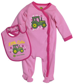 John Deere Infant Girls' Little Cutie Set, Pink, hi-res