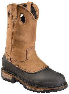 Georgia Mud Dog Waterproof Pull-On Work Boots - Steel Toe, , hi-res