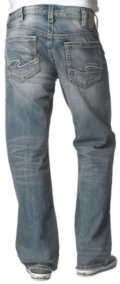 Silver Men's Gordie Loose Fit Jeans, , hi-res