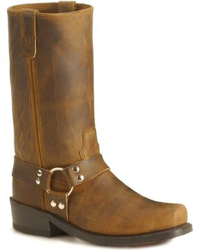 Double H Crazyhorse Harness Boots, Tan, hi-res