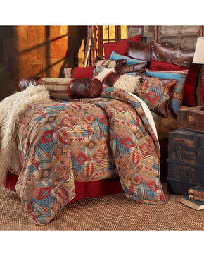 HiEnd Accents Ruidoso Super King 4-Piece Bedding Set, Multi, hi-res