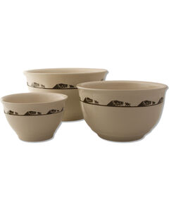 Moss Brothers 3-Piece Running Horses Mixing Bowl Set, , hi-res