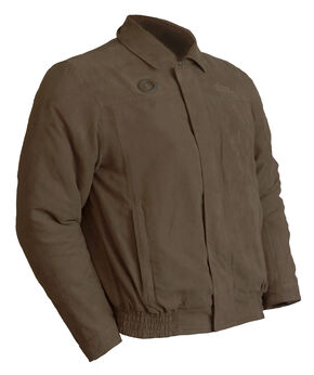 My Core Heated Bomber Jacket, Dark Brown, hi-res