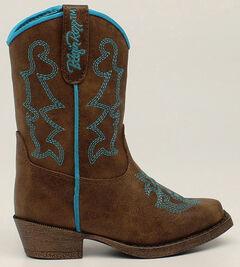 Blazin Roxx Toddler Girls' Zip Caroline Boots - Snip Toe, , hi-res