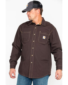 Carhartt Flame Resistant Canvas Shirt Jacket, , hi-res