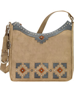 American West Annie's Secret Collection Sandy Brown Shoulder Bag , , hi-res