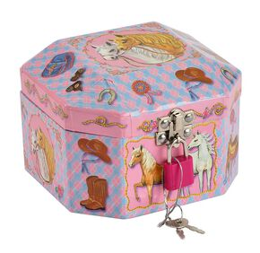 Kids' Musical Jewelry Box, Pink, hi-res