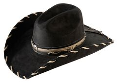 Bullhide Straight Shooter Faux Felt Cowgirl Hat, , hi-res