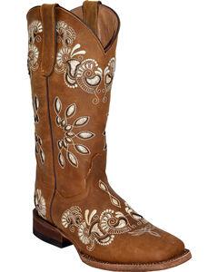 Ferrini Women's Masquerade Cutout Western Boots - Square Toe , , hi-res