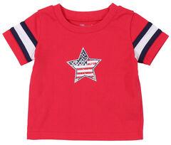 Wrangler Infant Boys' Red Star Short Sleeve Tee, , hi-res