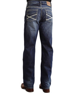 "Stetson Modern Fit Heavy ""X"" Stitched Jeans - Big & Tall, , hi-res"