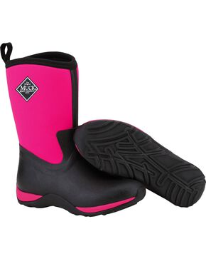 Muck Boots Pink Arctic Weekend Boots, Hot Pink, hi-res