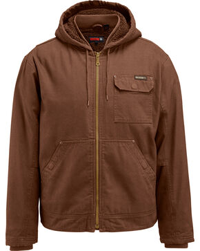 Wolverine Men's Dark Brown Insulated Ironwood Jacket, Dark Brown, hi-res