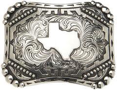 "AndWest Vintage ""Silverton"" State of Texas Belt Buckle, , hi-res"