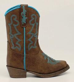 Blazin Roxx Toddler Girls' Caroline Cowgirl Boots - Snip Toe, , hi-res