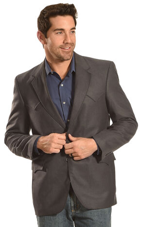 Circle S Men's Slate Grey Plano Sport Coat , Lt Green, hi-res