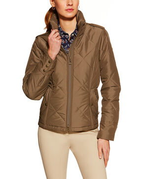Ariat Women's Terrace Jacket, Brick, hi-res
