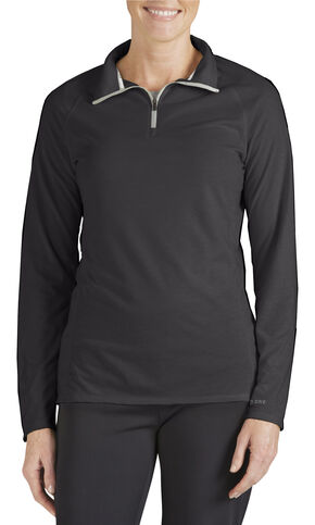 Dickies Quarter-Zip Performance Pullover, Black, hi-res