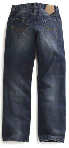 Tin Haul Men's Regular Joe Straight Leg Striped Lining Jeans, , hi-res