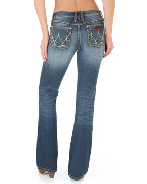 Wrangler Women's Retro Mae Jeans - Boot Cut , Blue, hi-res