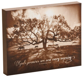 big sky carvers under the double oak wall art brown hi res - Western Wall Decor