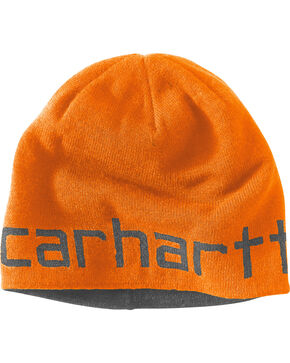 Carhartt Men's Greenfield Reversible Hat, Orange, hi-res