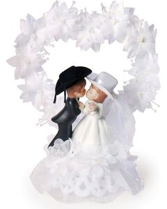 Western Wedding Cake Topper, , hi-res