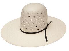 Resistol Men's Tuff-Anuff Conley Open Crown 20X Straw Hat, , hi-res