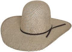 Bullhide Men's Brahmer Tamer 50X Straw Cowboy Hat, , hi-res