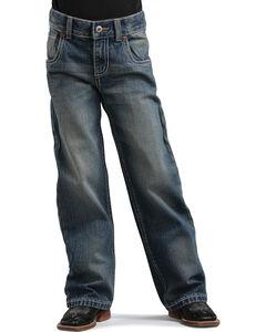 Cinch Boys' Gunnar Regular Fit Bootcut Jeans - 4-7, , hi-res