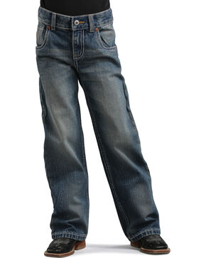 Cinch Boys' Gunnar Regular Fit Bootcut Jeans - 4-7, Denim, hi-res