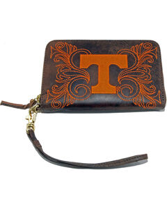 Gameday Boots University of Tennessee Leather Wristlet, , hi-res