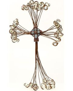 Western Moments Marble Wire Wall Cross, , hi-res