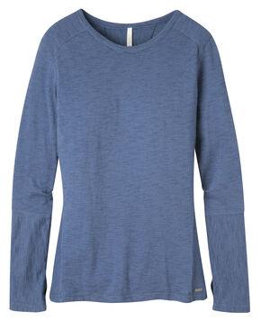 Mountain Khakis Women's Contour Crew Shirt, Slate, hi-res
