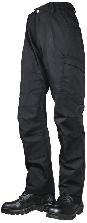 Tru-Spec Men's 24-7 Black Vector Pants , Black, hi-res
