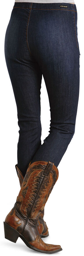 Stetson Stretch Denim Leggings, Denim, hi-res