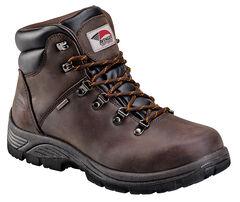 Avenger Men's Waterproof Lace-Up Work Boots - Steel Toe, , hi-res