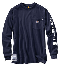Carhartt Flame Resistant Force Cotton Graphic Long Sleeve Shirt - Big & Tall, , hi-res