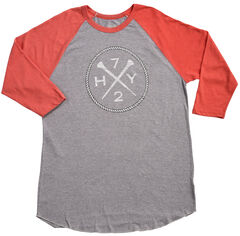 Hooey Men's Grey HY72 Baseball T-Shirt , , hi-res