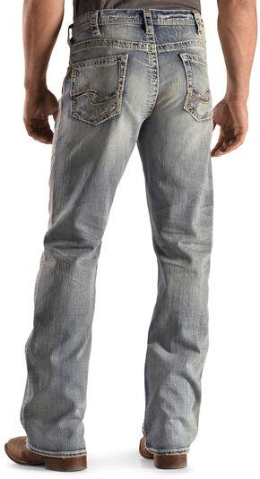 Silver Men's Grayson Easy Fit Jeans - Boot Cut , Denim, hi-res