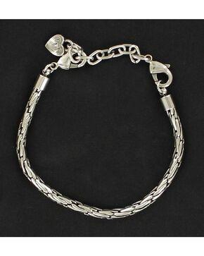 Chain Bracelet, Silver, hi-res