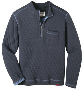 Mountain Khakis Men's Navy Hideaway Pullover Sweater  , Navy, hi-res