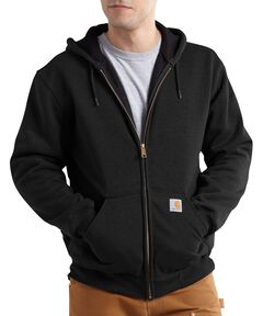Carhartt Thermal Lined Hooded Zip Jacket - Big & Tall, , hi-res