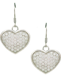 Montana Silversmiths Star Lights Heart Bright Earrings, , hi-res