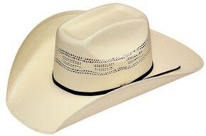 Twister Bangora Straw Cowboy Hat, Natural, hi-res
